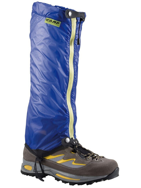 Camp Kristal Gaiter Blue/Lime